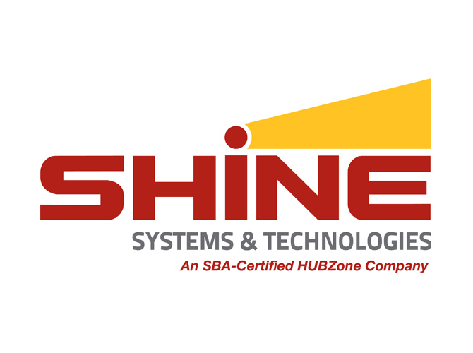 SHINE Systems & Technology Logo Design
