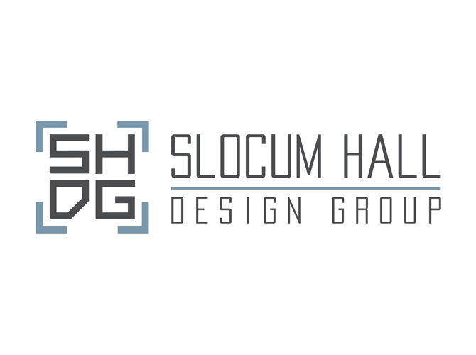 Slocum Hall Design Group logo Design