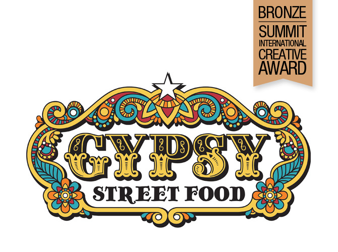 Gypsy Food Truck Logo Design