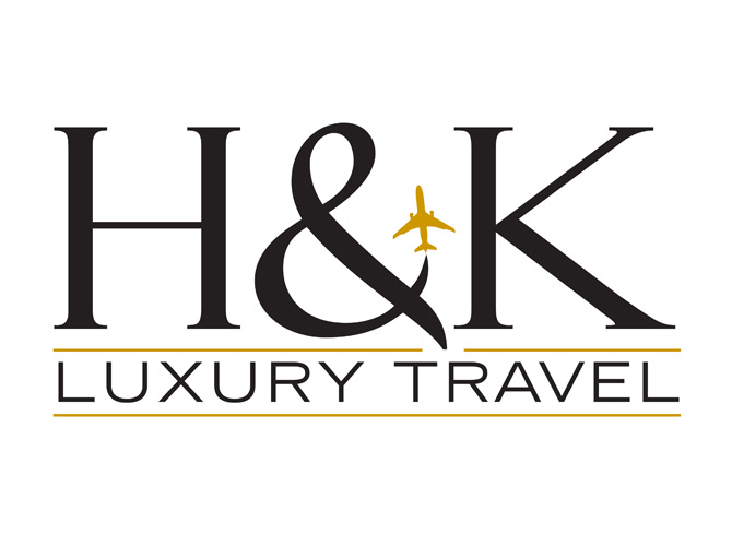 H&K Luxury Travel Logo Design