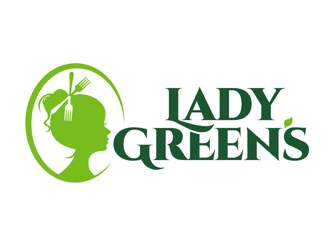 Lady Green's logo Design
