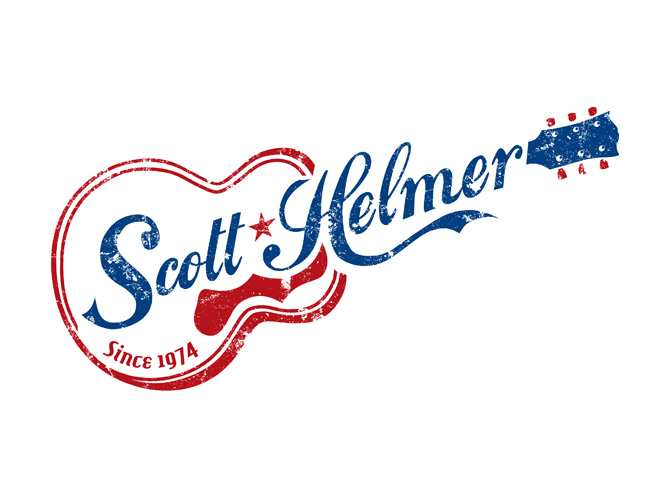 Scott Helmer Band Logo Design