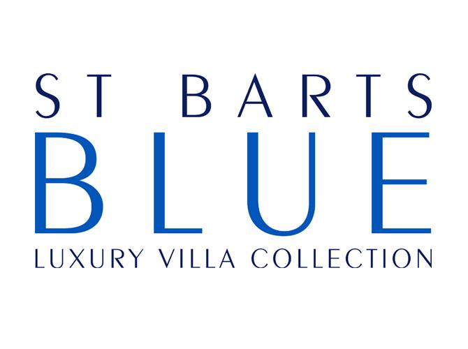 St. Barts Blue Logo Design
