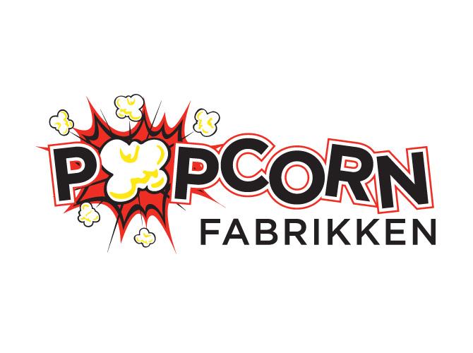 Popcorn Fabrikken Logo Design