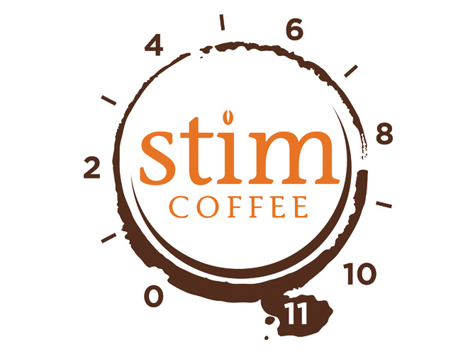 stim coffee logo Design